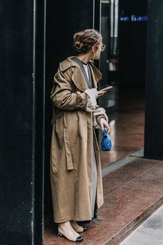 big baggy trench