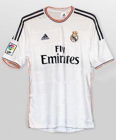 8baa62ba79 Real Madrid 2013 2014 Adidas. Camisas De FutebolFutebol ...