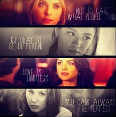 Pretty Little Liars quotes. I love what they've taught me especially Hanna