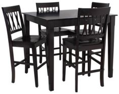 Homemakers Furniture: 5 Piece Counter Height Dining Set: New Classic: Dining: Dining Sets