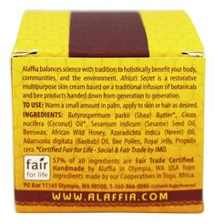 Save on Authentic Africa's Secret Multipurpose Skin Cream by Alaffia and other Body Creams          and Non-GMO remedies         at Lucky Vitamin. Shop online for Personal Care & Beauty, Alaffia items, health and wellness products at discount prices.