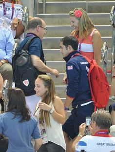 Kate Middleton Prince Albert II Photos: Olympics - Day 13 - Royals at the Olympics