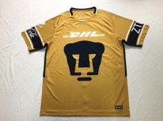 ffe10b196d6 Pumas Unam 2017-18 Top Third Shirt Jersey [L610] Football Uniforms, Football