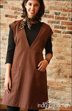 Over The Top Tunic   Indygo Junction-created in Crossroads Denim