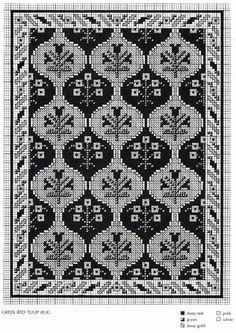 los gráficos del gato: ALFOMBRAS Cross Stitching, Cross Stitch Embroidery, Hand Embroidery, Bead Crochet Rope, Thread Crochet, Loom Patterns, Cross Stitch Patterns, Hippie Crochet, Crochet Diagram