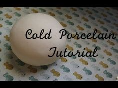 ☼Thank you for watching! Make sure to read the description box ☼ How to make your own cold porcelain! (: FAQ: What is cold porcelain? - Cold Porcelain is an . Polymer Clay Tools, Polymer Clay Projects, Homemade Clay, Diy Clay, Paper Clay, Clay Art, Cold Porcelain Tutorial, Biscuit, Porcelain Clay