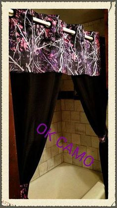 Get This Shower Curtain While Supplies Last @  Www.facebook.com/backwoodsjugsnmugs