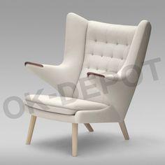 家具 PP Møbler(PPモブラー社) pp19 Teddy Bear Chair(テディベアチェア スタンダードレザー) Design:Hans J.Wegner(ハンス・J・ウェグナー) - 自然塗料・珪藻土で材工分離・施主支給リフォーム|住宅設備機器・建材のことなら【OK-DEPOT】