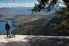 Best Hikes in SC 1. Table Rock Trail, Pickens
