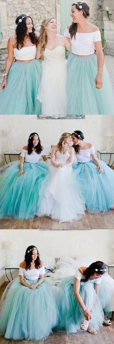 tutu skirt for adults, 2017 bridesmaid dress, long bridesmaid dress, blue bridesmaid dress, tulle bridesmaid dress, tutu skirt
