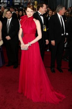 What 2012 roundup would be complete without Emma Stone? The star barely skipped a beat as she wowed us over and over (and over!) again during the past year. Our top pick is the Giambattista Valli Couture gown she chose for the Oscars — ladylike and lovely, she looked like a true A-lister in this lush ensemble.