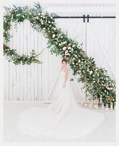 Epic Ceremony Backdrop By Details Dallas Floral & Events ~ Hannah Way Photography