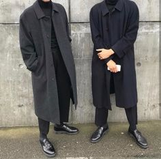 Boy dress like that because Damn Look Fashion, Korean Fashion, Mens Fashion, Classy Outfits, Boy Outfits, Black Outfit Men, Der Gentleman, Looks Dark, Style Masculin