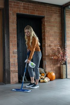 Fall can be tough on floors. Lucky for you, Bona PowerPlus® Antibacterial Hard-Surface Floor Cleaner is even tougher on dirt. Powered by hydrogen peroxide, this ready to use cleaner kills 99.9% of household germs when used as directed.