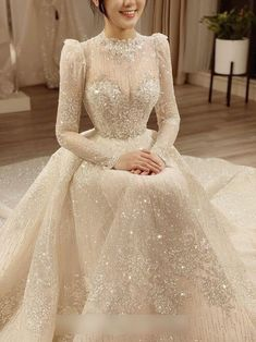 Fancy Wedding Dresses, Muslim Wedding Dresses, Lace Mermaid Wedding Dress, Bridal Dresses, Prom Dresses, Dress Outfits, Muslimah Wedding Dress, Calla, White Wedding Dresses
