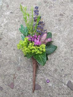 herby buttonhole