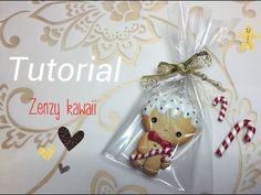 ❥TUTORIAL fimo : omino ZENZY natalizio ! - ginger man ~ polymerclay - YouTube