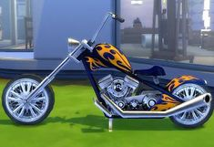 Mod The Sims - Sittable Motorcycle - TS3 conversion
