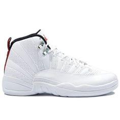 official photos cea41 d7331 Air Jordan 12 (XII) Rising Sun White Black Varsity Red 130690-163  58