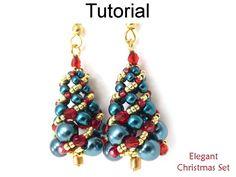 Russian Spiral Beading Tutorial Christmas Tree Pattern