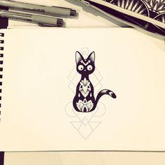 I love this Jiji tattoo.
