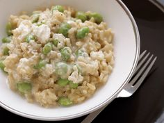 Creamy Risotto with Edamame | Food & Wine goes way beyond mere eating and drinking. We're on a mission to find the most exciting places, new experiences, emerging trends and sensations.