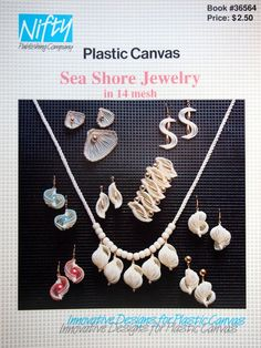 Sea Shore Jewelry In 14 Count Plastic Canvas By by NeedANeedle