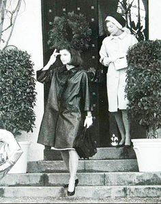 Jackie and Lee, Christmas 1963, in Palm Beach.
