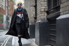 God Save the Queen and all: London Fashion Week: Street Style - Menstyle