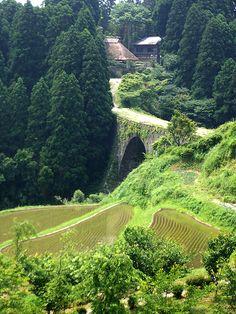 Tsujun-kyo aqueduct, Yabemachi (Yamato-cho) #japan #kumamoto