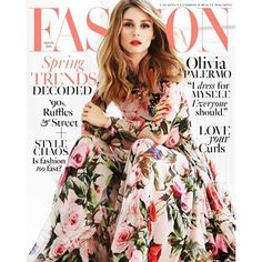 NEW POST Cover Craze: #OliviaPalermo's Stunning Spring Shoot for @FashionCanada's March Issue! #StyleDarlingDaily #fashion #style #magazine #covercraze #styleicon #springstyle #styleinspiration #styleforall #stylefordays #musthaves http://wp.me/pDZ0Z-6He