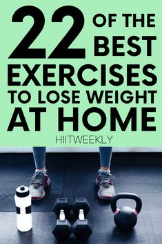 Maximize your time spent doing the right exercises to lose weight. here is your list of the best weighted and non weighted exercises to lose weight fast. Workout To Lose Weight Fast, Weight Training Workouts, Best Cardio Workout, Lose Weight At Home, Losing Weight Tips, Fun Workouts, Weight Loss Tips, How To Lose Weight Fast, At Home Workouts