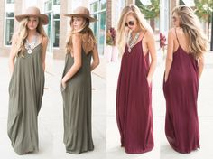 Fall maxi dresses #swoonboutique