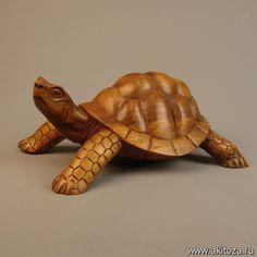 Черепаха l=20 см. (дерево суар)