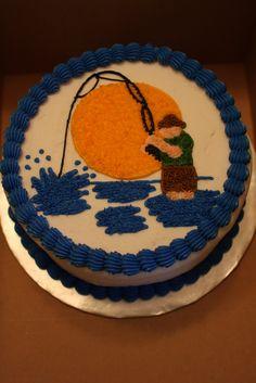 The Buttercream Bakery: Fly Fisherman Cake