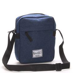 Unisex látková crossbody taška modrá - New Rebels Rebelas Unisex, Rebel, Backpacks, Party, Bags, Fashion, Handbags, Moda, Fashion Styles