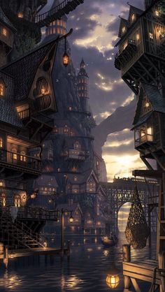 Tagged with fantasy, dump, destinybestgameever, helo; Dump of my favorite fantasy world pictures Fantasy City, Fantasy Places, Fantasy Kunst, Fantasy World, Final Fantasy, Dark Fantasy, Fantasy Village, Fantasy Castle, Fantasy Artwork