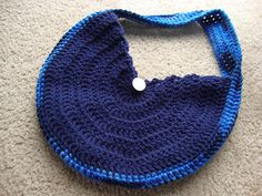 Ravelry: Perfect Fit Hobo Bag pattern by Claire Ortega-Reyes free