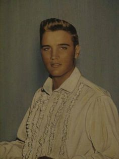 A very young Elvis