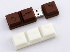 Chocolate flashdrive