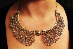 Collar (babero) Dorado $6.000