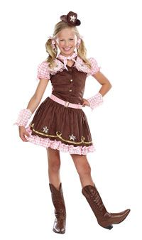 Rodeo Star Girls Costume - Cowgirl Costumes