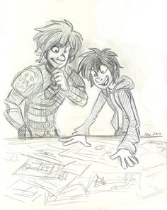 Hiccup and Hiro
