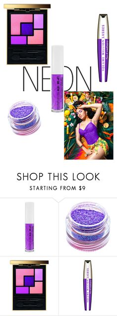 """Purple Reign"" by dolcechez ❤ liked on Polyvore featuring beauty, Medusa's Makeup, Charli, Yves Saint Laurent and L'Oréal Paris"
