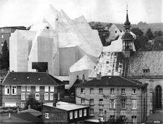 Kościół pielgrzymkowy Marii Królowej Pokoju, 1963-1968, Gottfried Böhm, Neviges