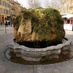 Aix en Provence Fontaine le Moussue #fontaine #eau #aixenprovence #histoire #patrimoine