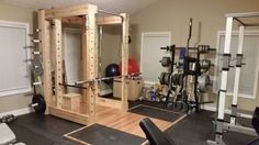 Squat rack and platform