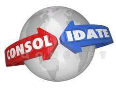Consolidate International Business Groups Consolidation Global Teams - We can make this image YOUR OWN by putting your message on it, just email chris@iqoncept.com