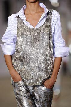 Portrait - Silver - Fashion - Runway - Catwalk - Editorial - Photography