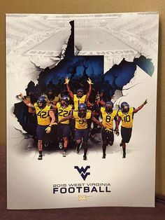 Are you ready for some football? Mountaineers Football, Football Memes, Football And Basketball, Football Program, Football Season, College Football, Football Pics, Sports Graphic Design, Sport Design